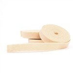 Beige Skin Wool Felt Ribbon