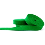 Bright Green Wool Felt Ribbon