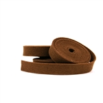Brown Wool Felt Ribbon