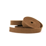 Cappuccino Wool Felt Ribbon
