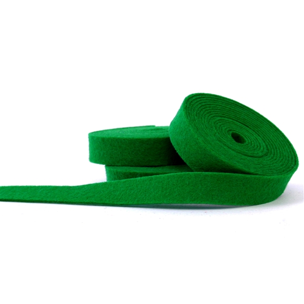 Green Felt Ribbon