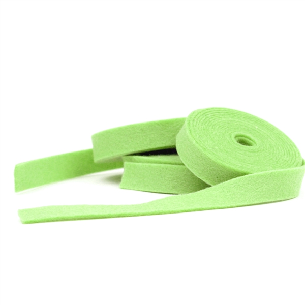 Granny Smith Wool Felt Ribbon