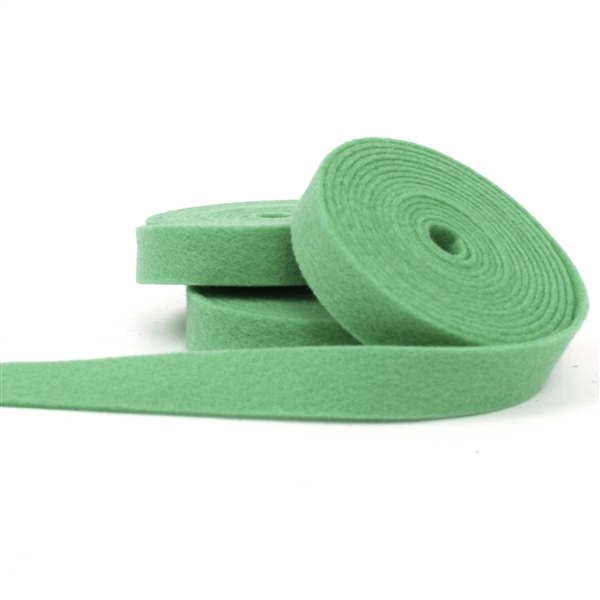 Mint Wool Felt Ribbon