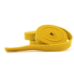 Mustard Wool Felt Ribbon