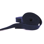 Navy Wool Felt Ribbon