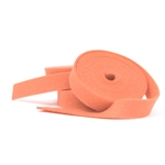Papaya Wool Felt Ribbon