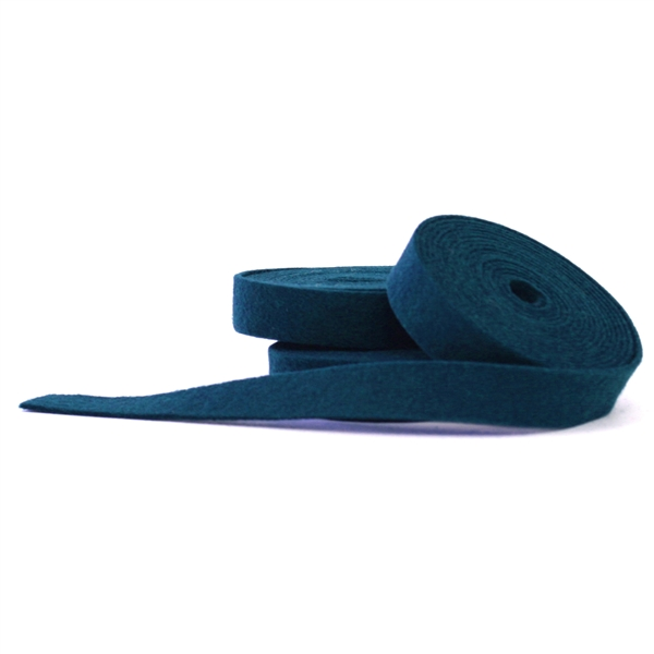Peacock Wool Felt Ribbon