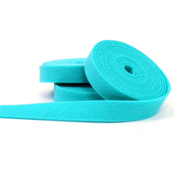Robin's Egg Wool Felt Ribbon