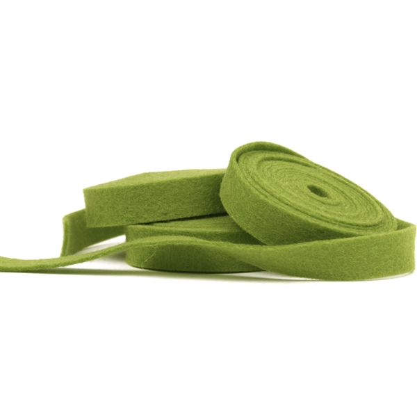 Sage Wool Felt Ribbon