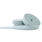 Silver Wool Felt Ribbon