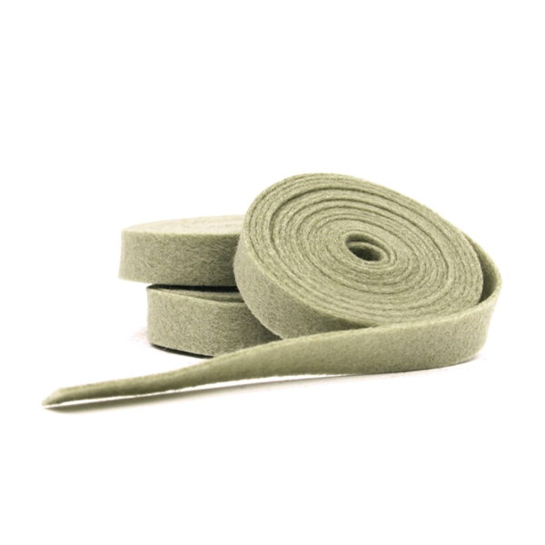 Taupe Wool Felt Ribbon