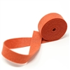 Terracotta Wool Felt Ribbon