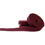 Wine Wool Felt Ribbon