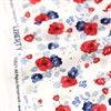 Land of Liberty White Floral