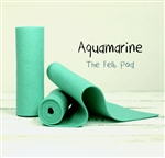 Aquamarine Wool Felt Roll