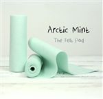 Arctic Mint Wool Felt Roll
