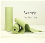Avocado Wool Felt Roll