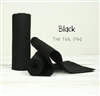 Black Wool Felt Roll