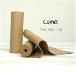 Camel Wool Felt Roll