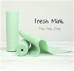 Fresh Mint Wool Felt Roll