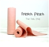 French Peach Wool Felt Roll