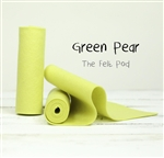 Green Pear Wool Felt Roll