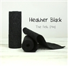 Heather Black Wool Felt Roll