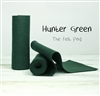 Hunter Green Wool Felt Roll