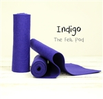 Indigo Wool Felt Roll
