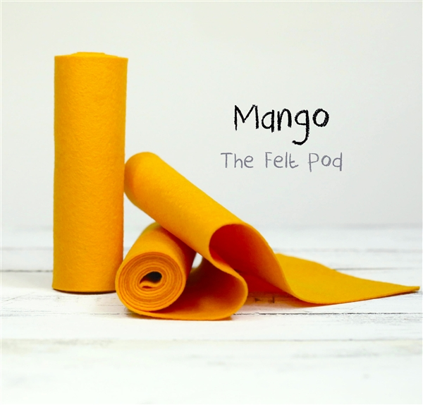 Mango Wool Felt Roll