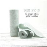 Mint N' Chip Wool Felt Roll