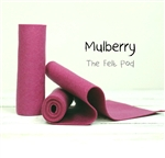 Mulberry Wool Felt Roll