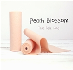 Peach Blossom Wool Felt Roll
