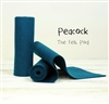 Peacock Wool Felt Roll