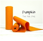 Pumpkin Wool Felt Roll