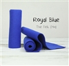 Royal Blue Wool Felt Roll