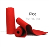 Red Wool Felt Roll