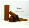 Rust Wool Felt Roll