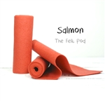 Salmon Wool Felt Roll