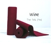 Wine Wool Felt Roll