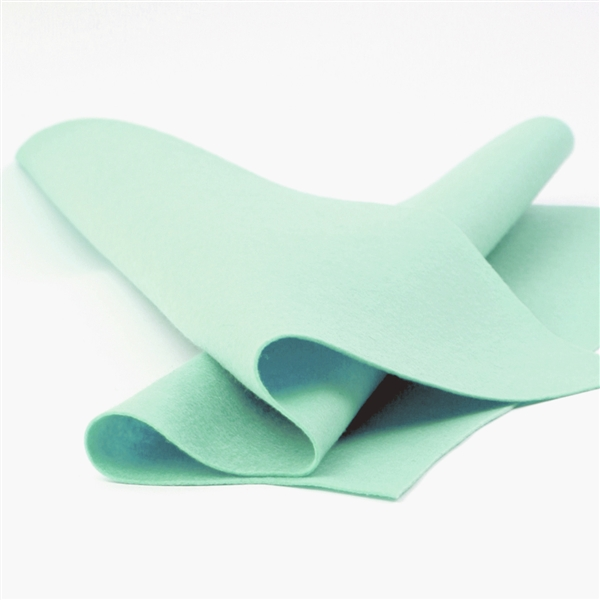 Arctic Mint Wool Felt Sheet