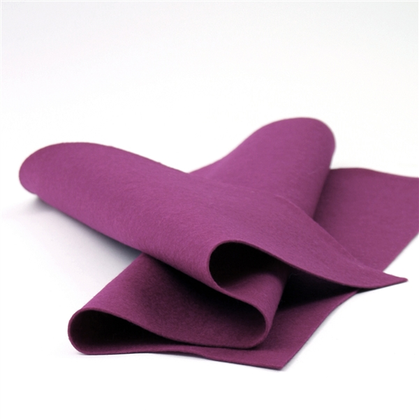 Berry Wool Felt Sheet