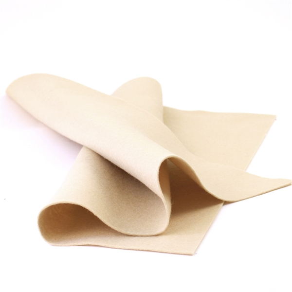 Beige Skin Wool Felt Sheet