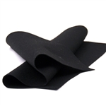 Black Wool Felt Sheet