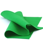 Bright Green Wool Felt Sheet
