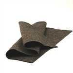 Heather Chocolate Wool Felt Sheet