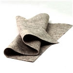 Dark Heather Beige Wool Felt Sheet