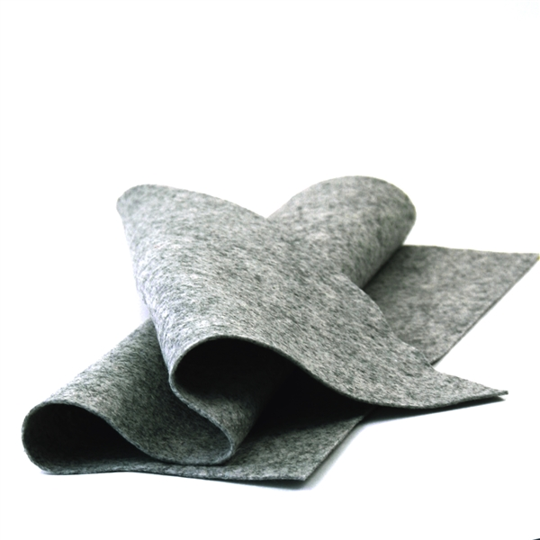 Dark Heather Gray Felt Sheet