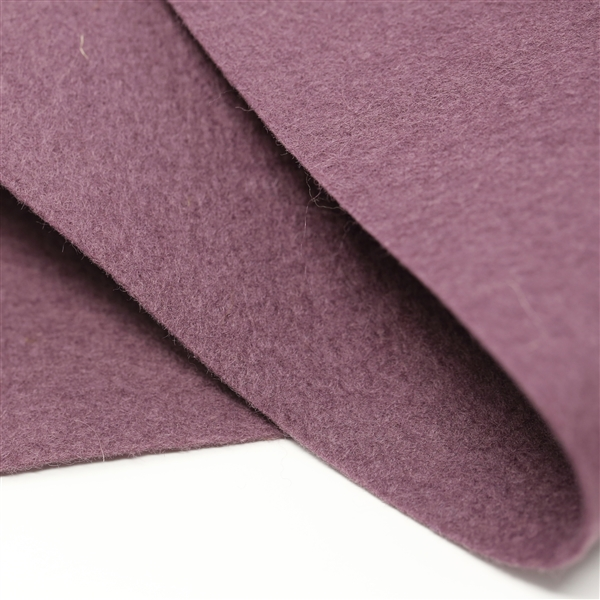 Exotic Eggplant Wool Felt Sheet