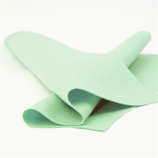 Fresh Mint Wool Felt Sheet